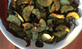 Pan-fried Zucchini with Capers and Dill